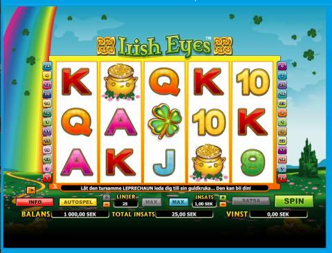 Irish Eyes Video Slot