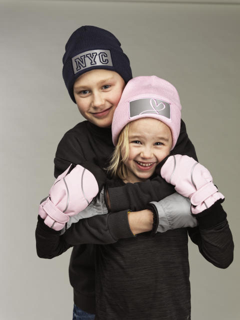 Kids hat and mittens 42854-193, 42593-193