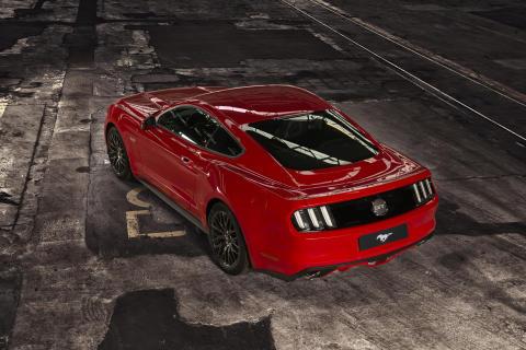 Nye Ford Mustang kommer til Norge i løpet av sommeren