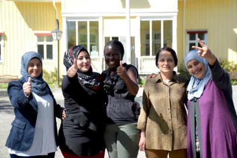 Kvinnogrupp IM Vrigstad