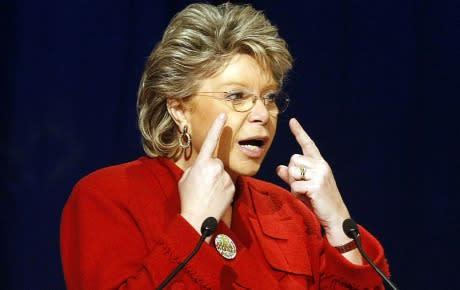 Viviane Reding backar inte om kvotering