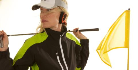 Windfree på golfare