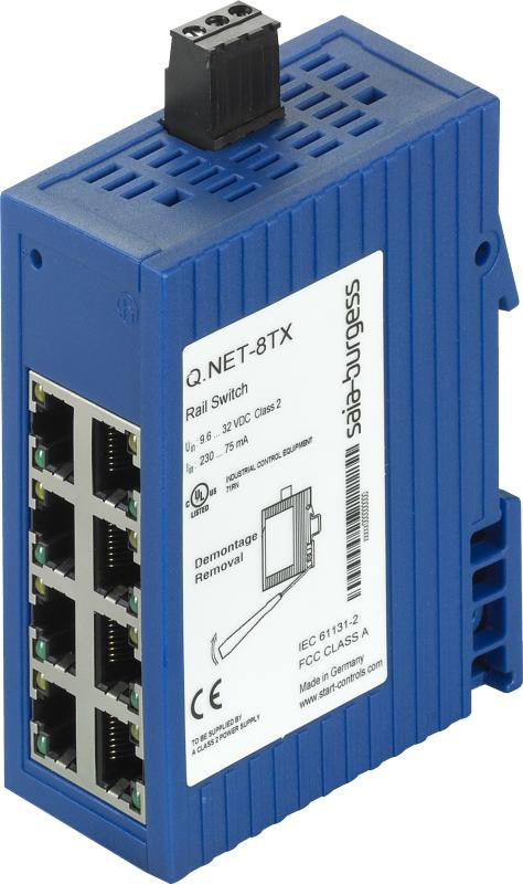 8-portars Ethernet switch Q.NET-8TX