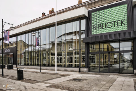 Välkommen till pressträff på stadsbiblioteket i Lidköping!  Torsdag 29 augusti kl 09.00
