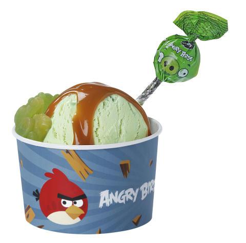 Vihreä Possu -jäätelöannos