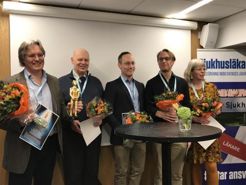 Larmande rättsläkare får priset Årets Visslare