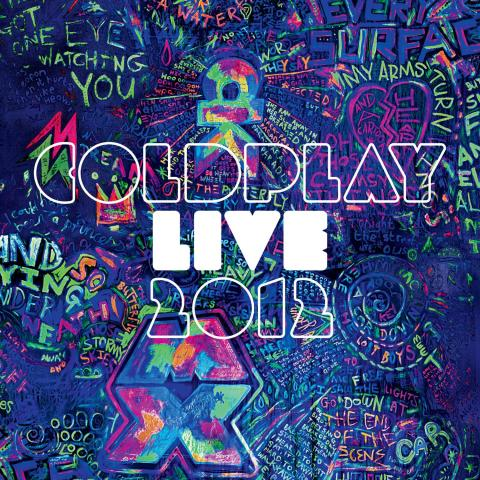 Coldplay Live2012 packshot