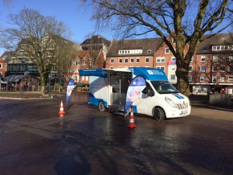 Beratungsmobil der Unabhängigen Patientenberatung kommt am 8. November nach Emden.