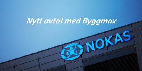 Byggmax väljer Nokas