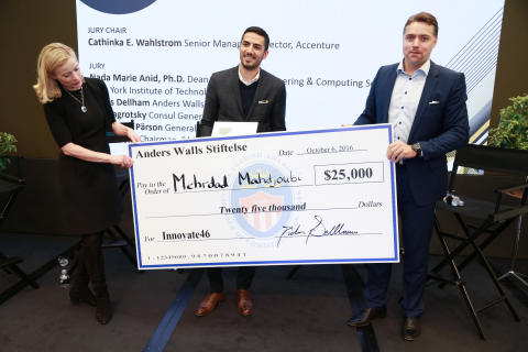 The Anders Wall Entrepreneur of the Year Award till Orbital Systems