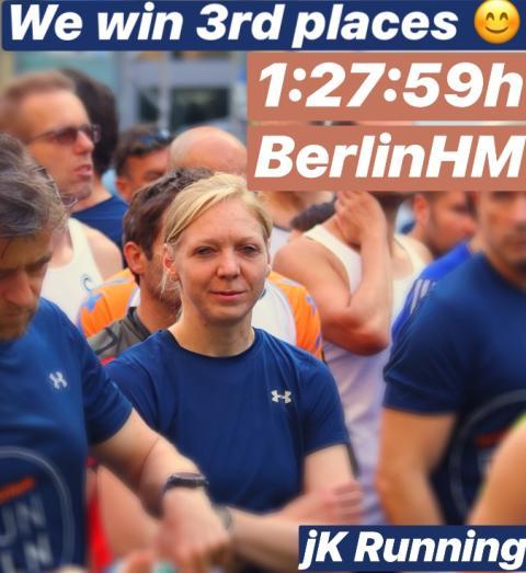 GreenRock Energy bei der Generalprobe zum Berlin Marathon zweimal auf dem Podium