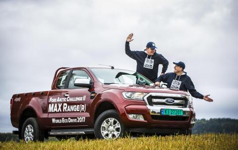 Ford Ranger økokjøring