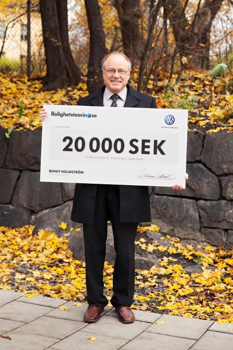 Vinnaren Bengt Holmström