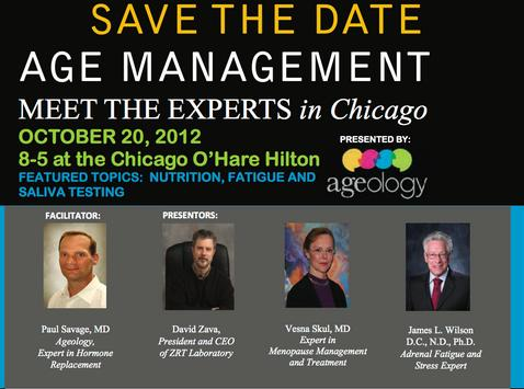 Age Management MD Experts Meet in Chicago to Discuss Anti-Aging Healthcare