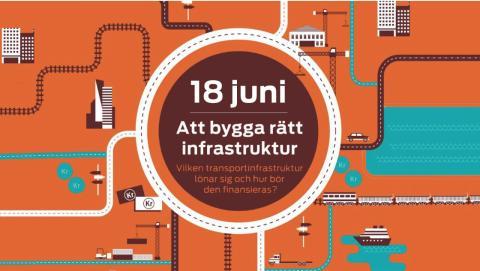 Lansering: Att bygga rätt infrastruktur – vilken transportinfrastruktur lönar sig och hur bör den finansieras?