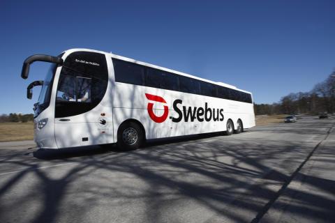 Swebus satsar på fler bussar till Landvetter