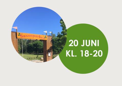Pressinbjudan: Invigning av Saxons park och nya naturstigar!