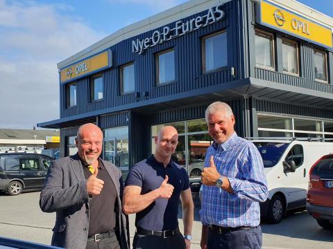 Tore blir bilselger for Peugeot i Bodø