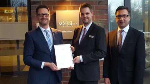 Michael Buitkamp erhält Stipendium für das Institute of Culinary Art