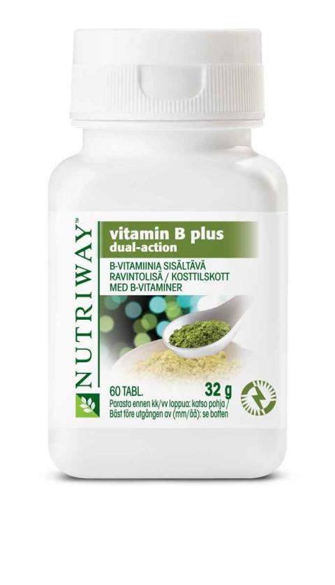 Uusi kaksivaikutteista teknologiaa hyödyntävä B-vitamiini: Tehoravintolisä väsymyksen torjuntaan