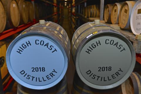 High Coast Whisky - Fatägarlördag 5/10