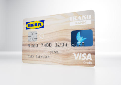 IKEA bietet seinen Kunden erstmals eine Kreditkarte an