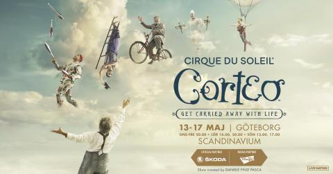 Fem dagar med Cirque du Soleil på Scandinavium