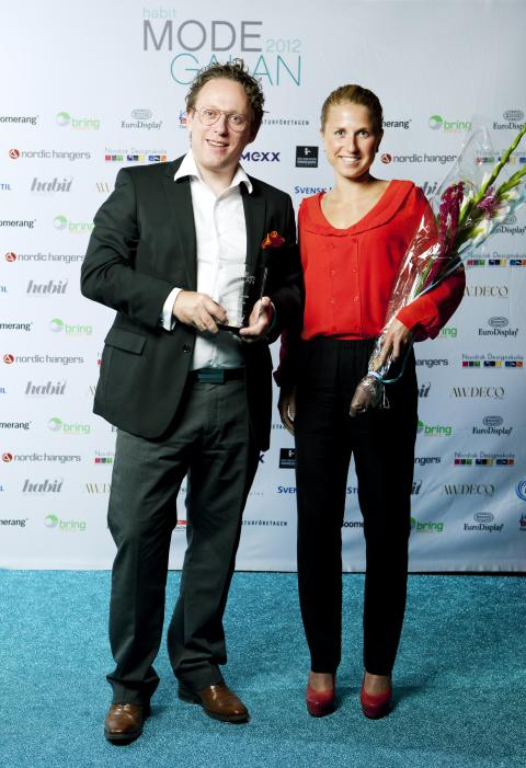 Vinnare Årets Skobutik Habit Modegalan 2012 - Brandos.se, Stockholm