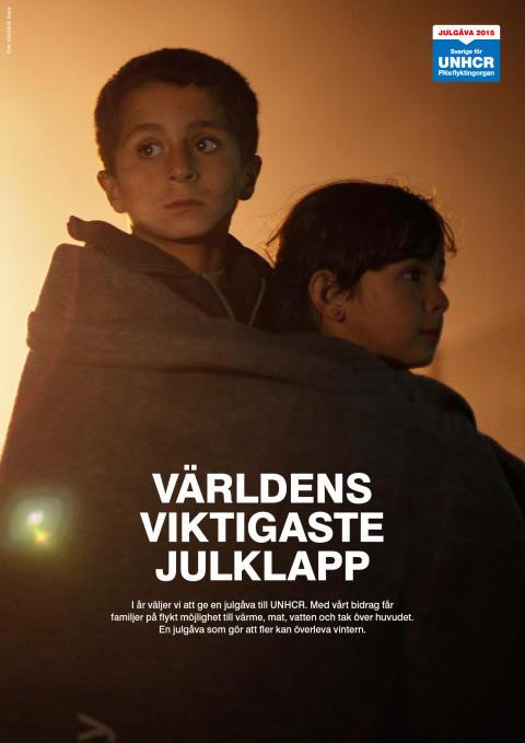 LensWay skänker julgåva till UNHCR