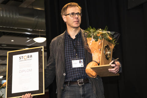 Örjan Martelleur, CEO at MidDec Scandinavia - winner of Stora Inneklimatpriset