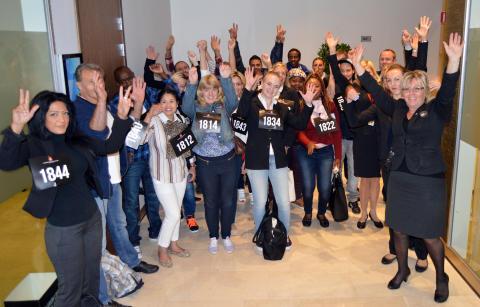 Talangjakt skapar bro till arbetsmarknaden på Clarion Hotel Arlanda Airport