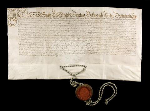 Tronavsägelseurkunden Uppsala 1654