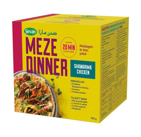 Meze Dinner Kit Shawarma Chicken