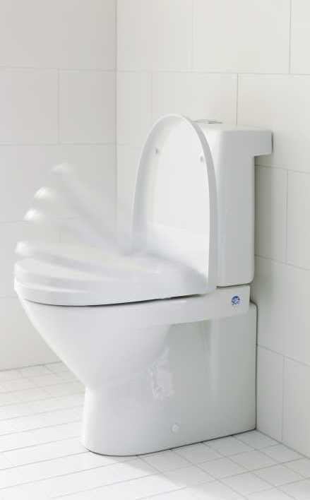 Porsgrund Smart - sete med myk lukking og hurtigkobling