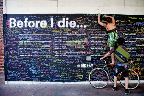 Before I die - konceptbild