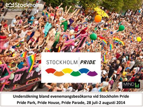 Rapport: Stockholm Prides effekt på turism