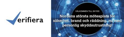 Verifiera är utställande företag på SKYDD 2016