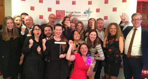 Sopra Steria kåres til Norges Beste Arbeidsplass