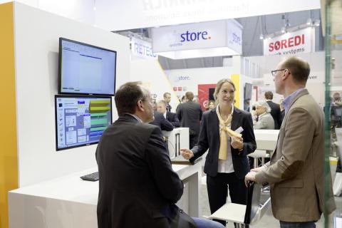 """Jungheinrich visar vägen till """"Industri 4.0"""" på CeBIT"""