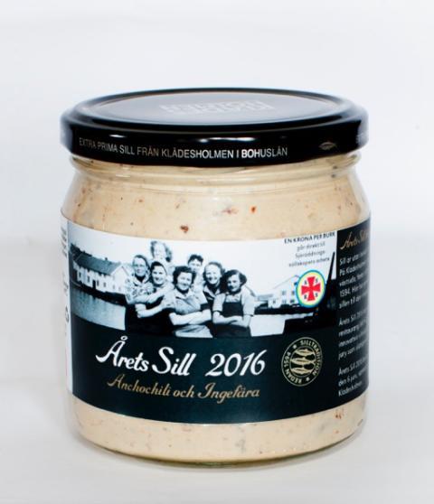 Årets Sill 2016 med smak av Ancochili & Ingefära