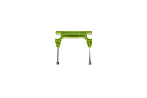 Skidhållare FastGrip Grön
