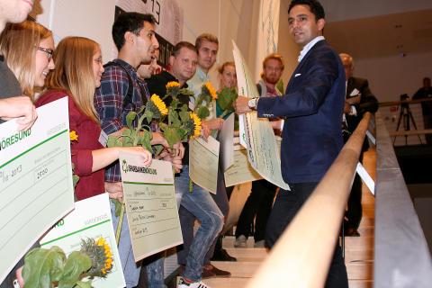 dansk minister priser studenter