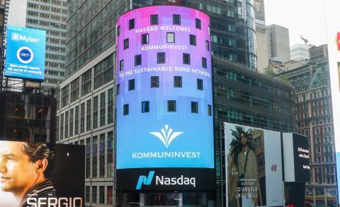 Kommuninvest ansluter sig till Nasdaq Sustainable Bond Network