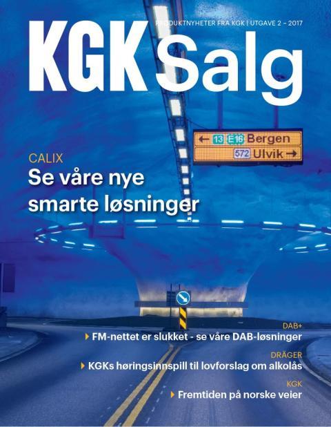 Nytt nummer av KGK Salg