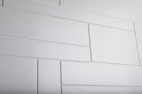 Detaljbild Ekstrands ytterdörr brick 101