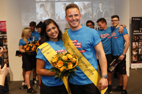 Germany's Power People: Miss und Mister Handwerk für 2019 gewählt
