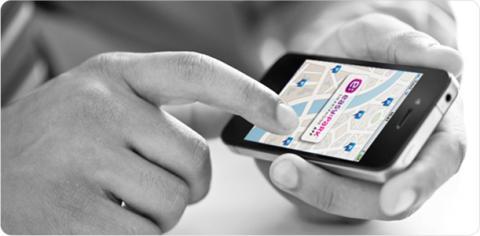 EasyPark Smartphone App i topp på Appstore!