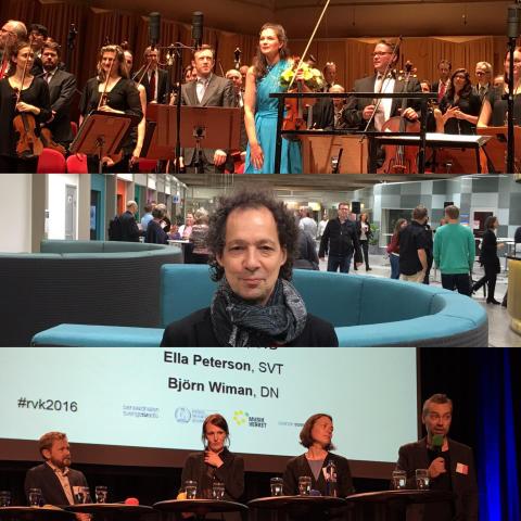 Konstmusikens krafter samlade i Rikstinget