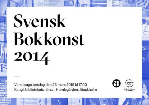 Pressinbjudan: Svensk Bokkonst 2014