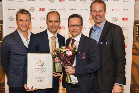 Tre vinner pris som årets Business Accelerator för innovation och digital transformation